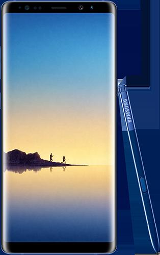 Note 8 Bleu