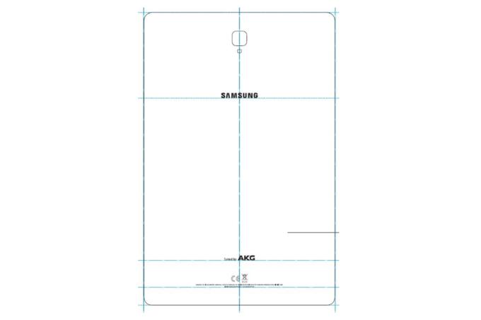 Galaxy Tab S4 à la FCC