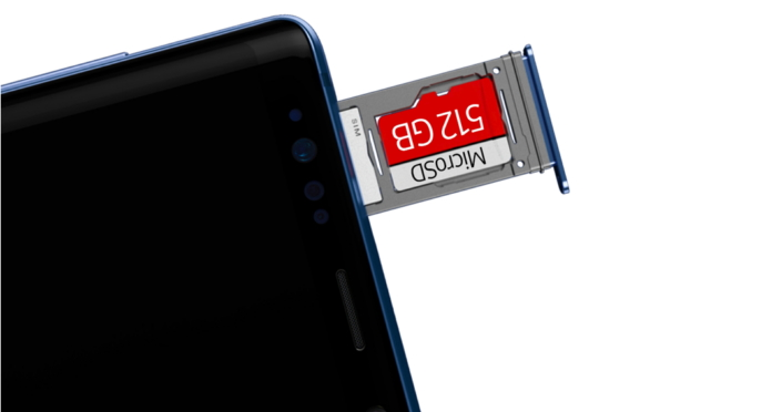 Note 9 Stockage