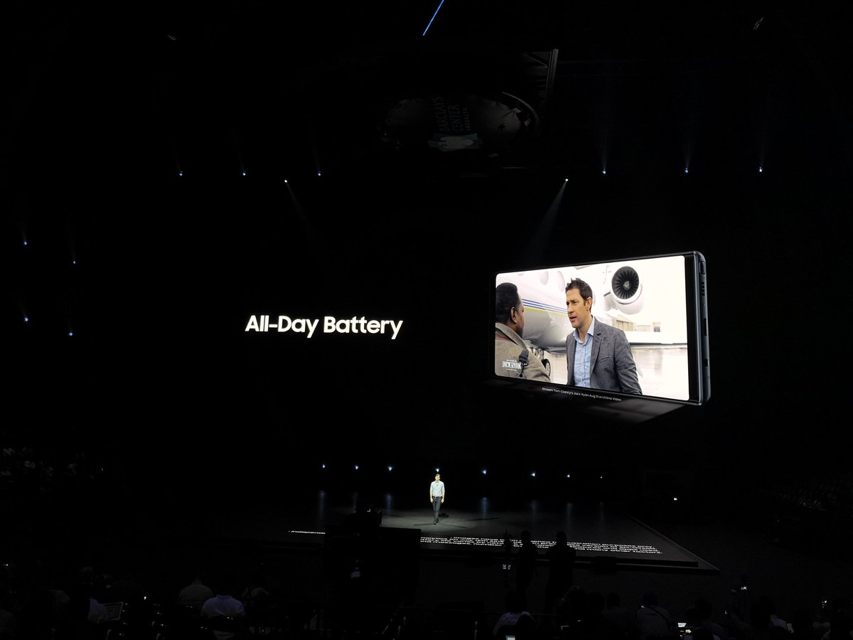 Note 9 battery