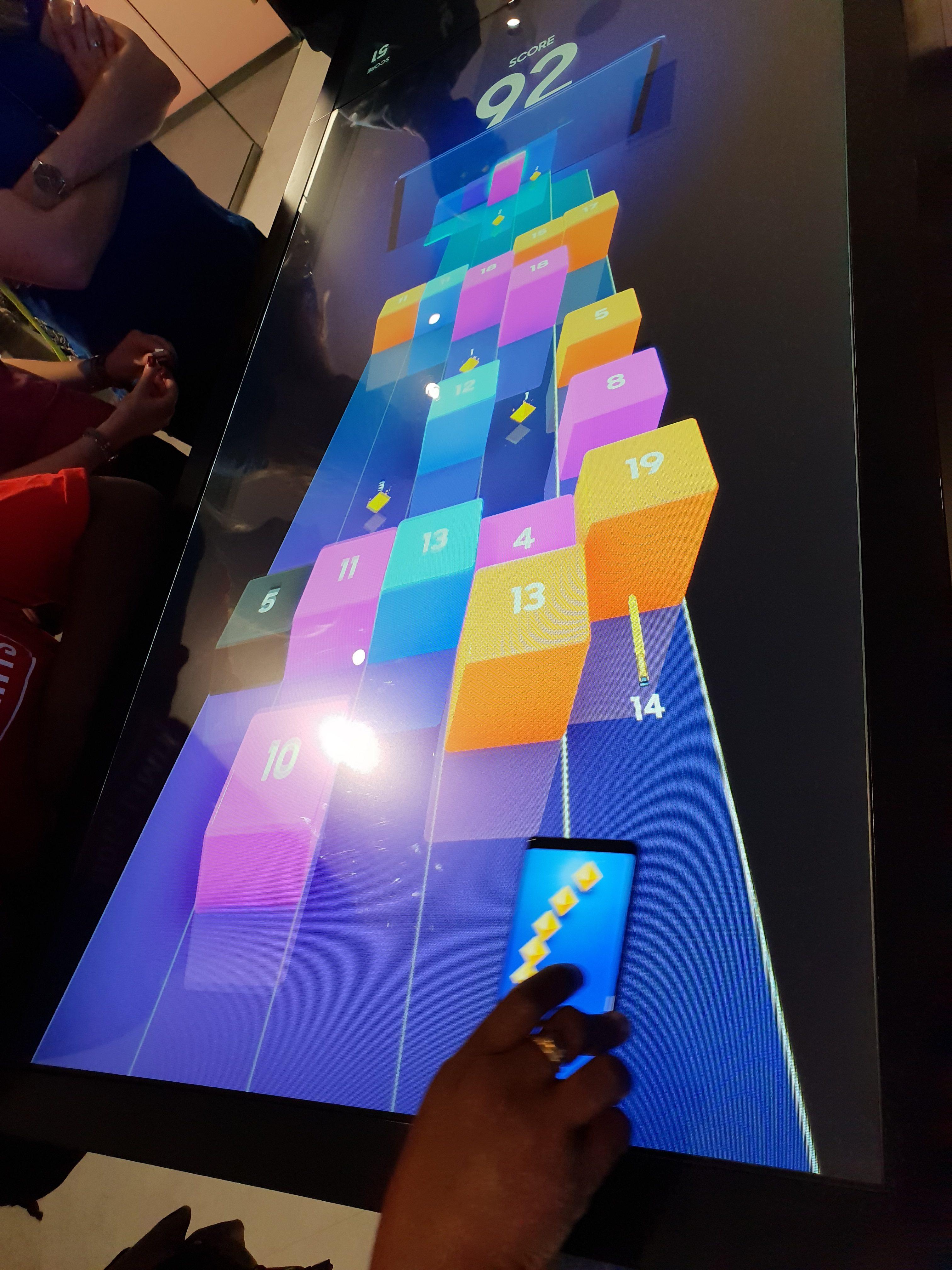#SamsungParis - Jeu interactif