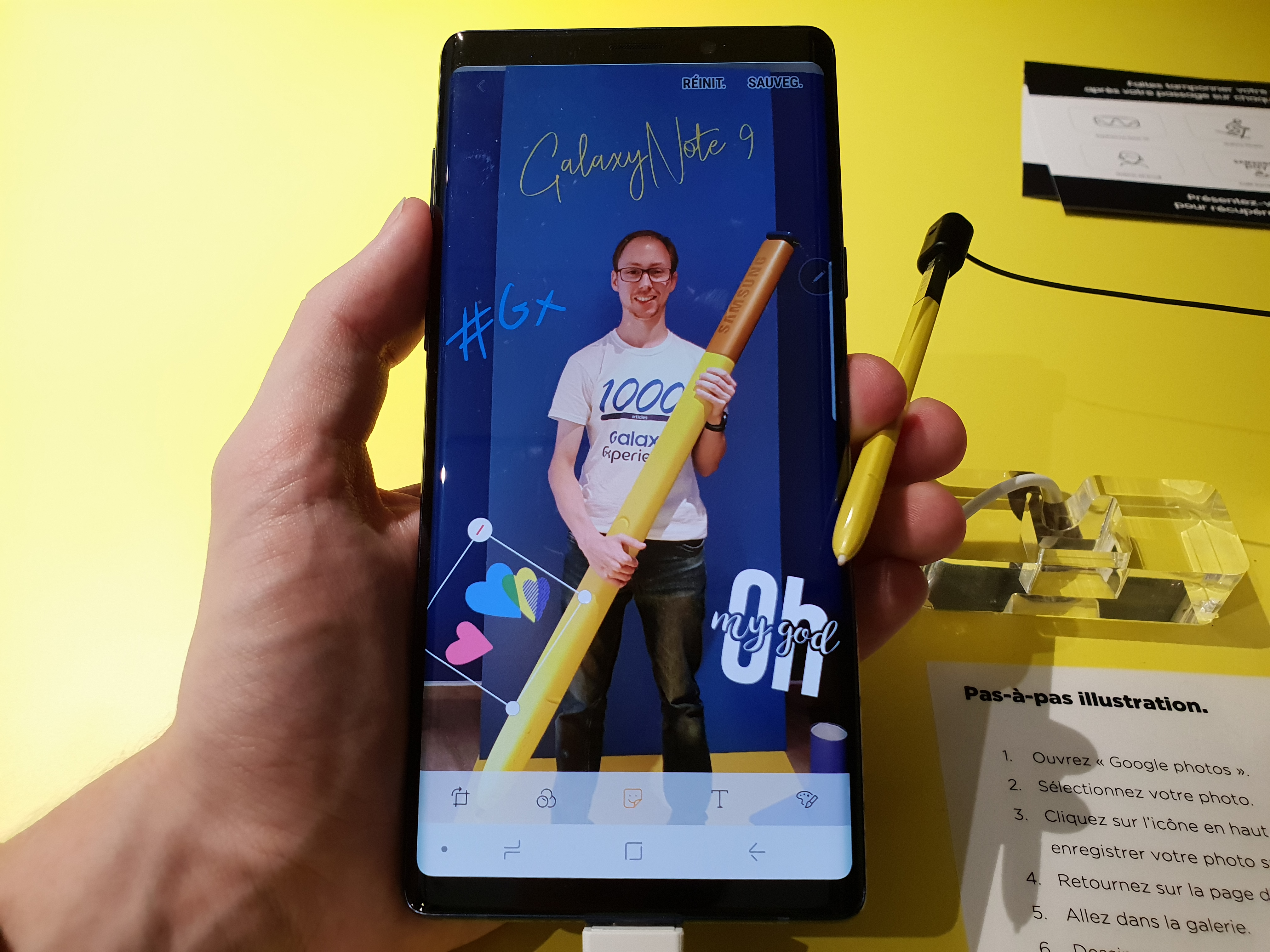 #SamsungParis - Galaxy Note 9 - Illustrations