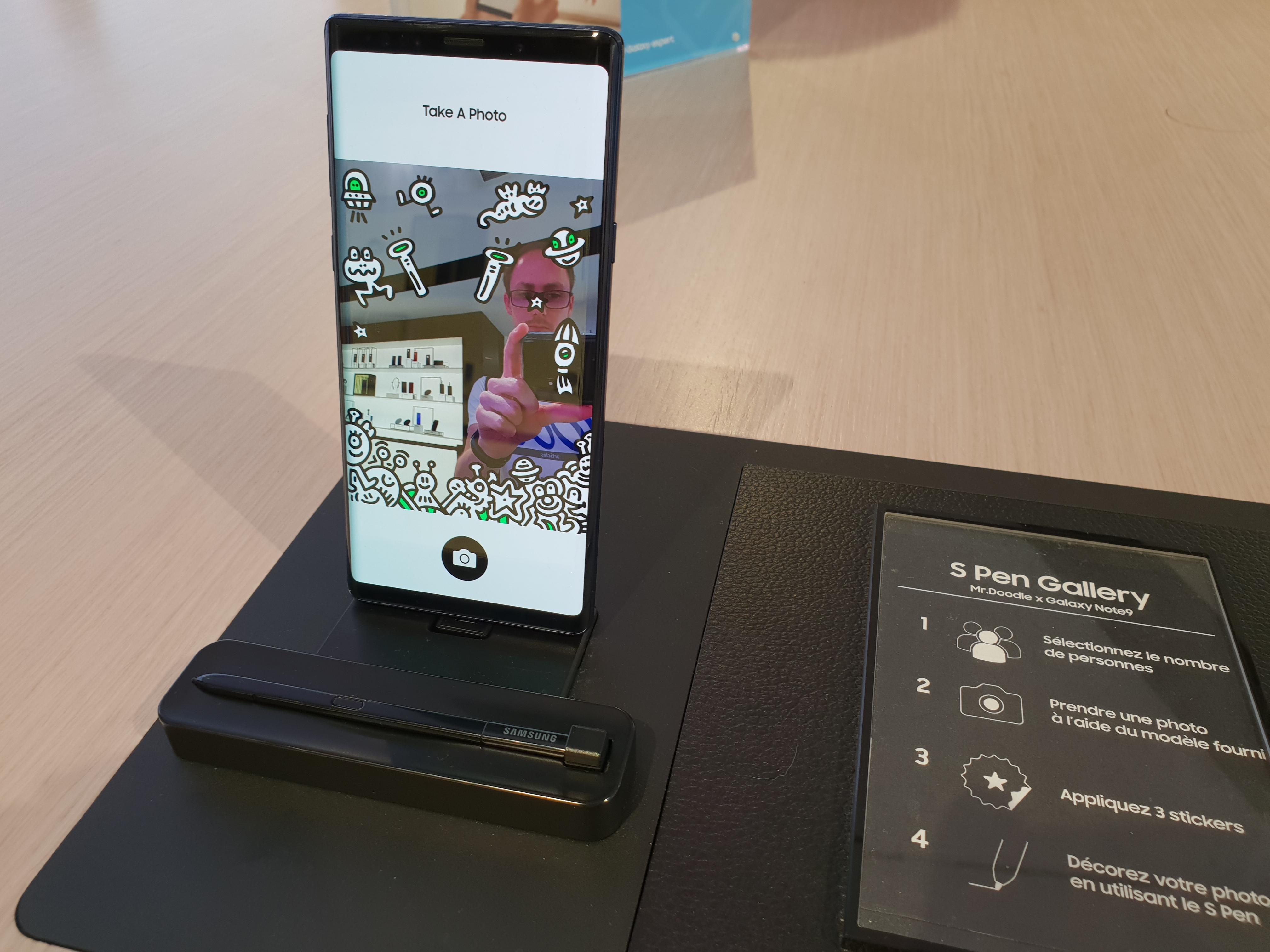 #SamsungParis - Galaxy Note 9 - Mr.Doodle