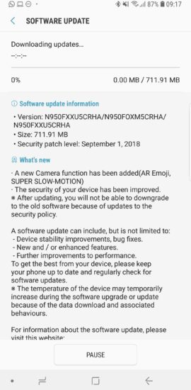 galaxy-note-8-update-ar-emoji