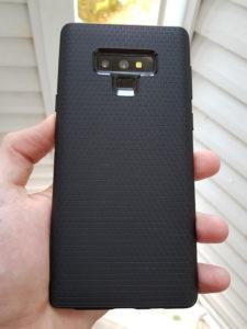 Coque Liquid Air de Spigen sur Galaxy Note 9