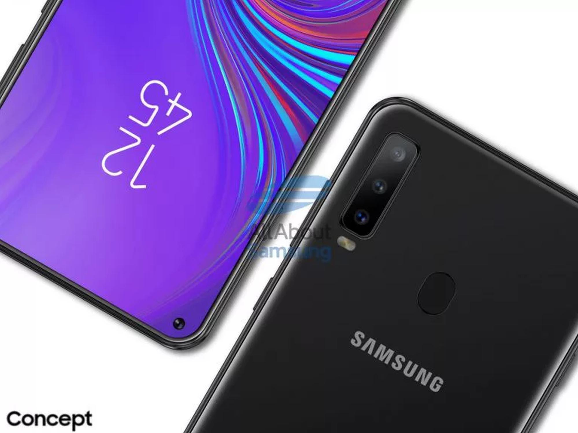Galaxy A8s