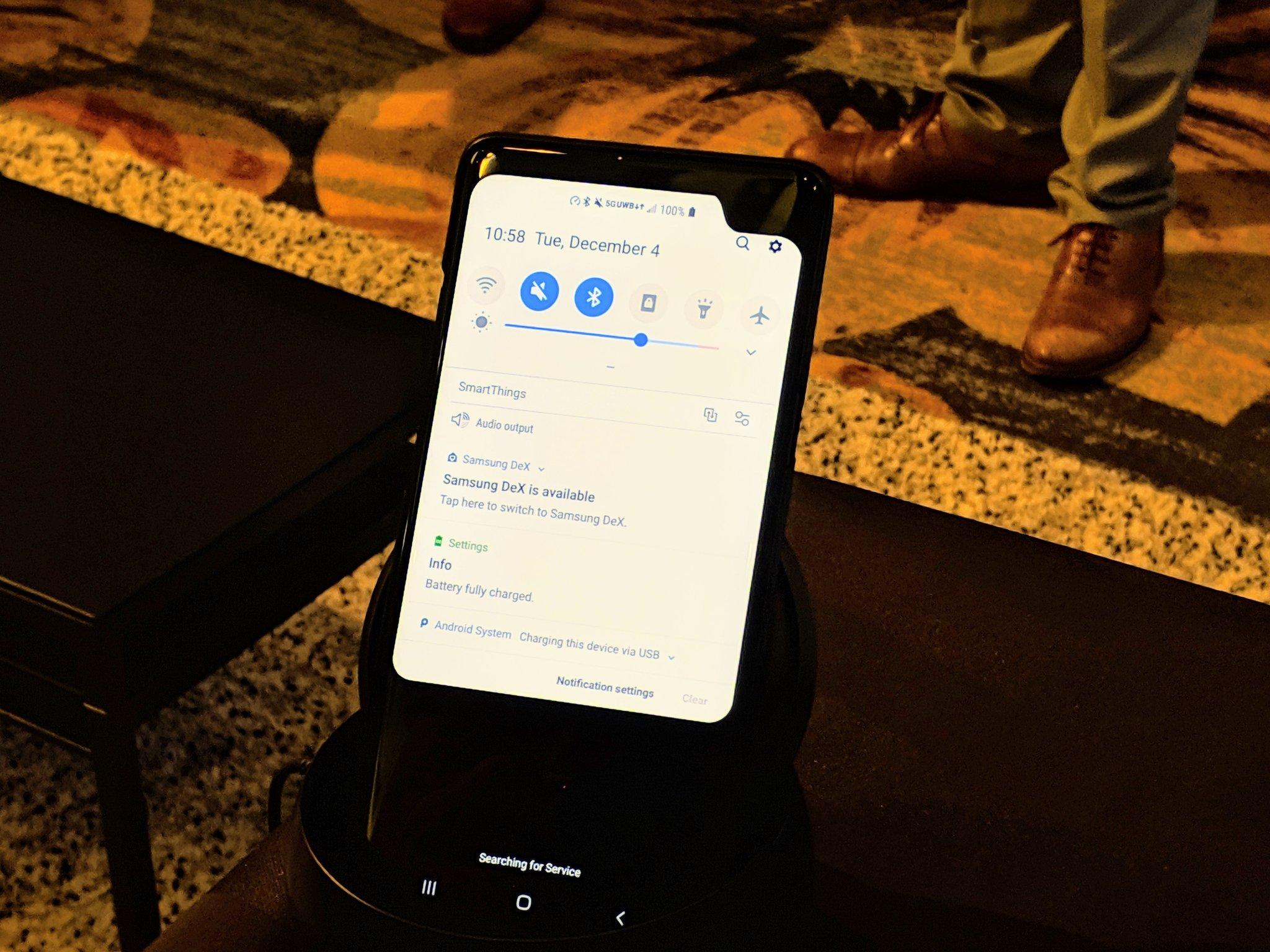 Smartphone Galaxy 5G prototype