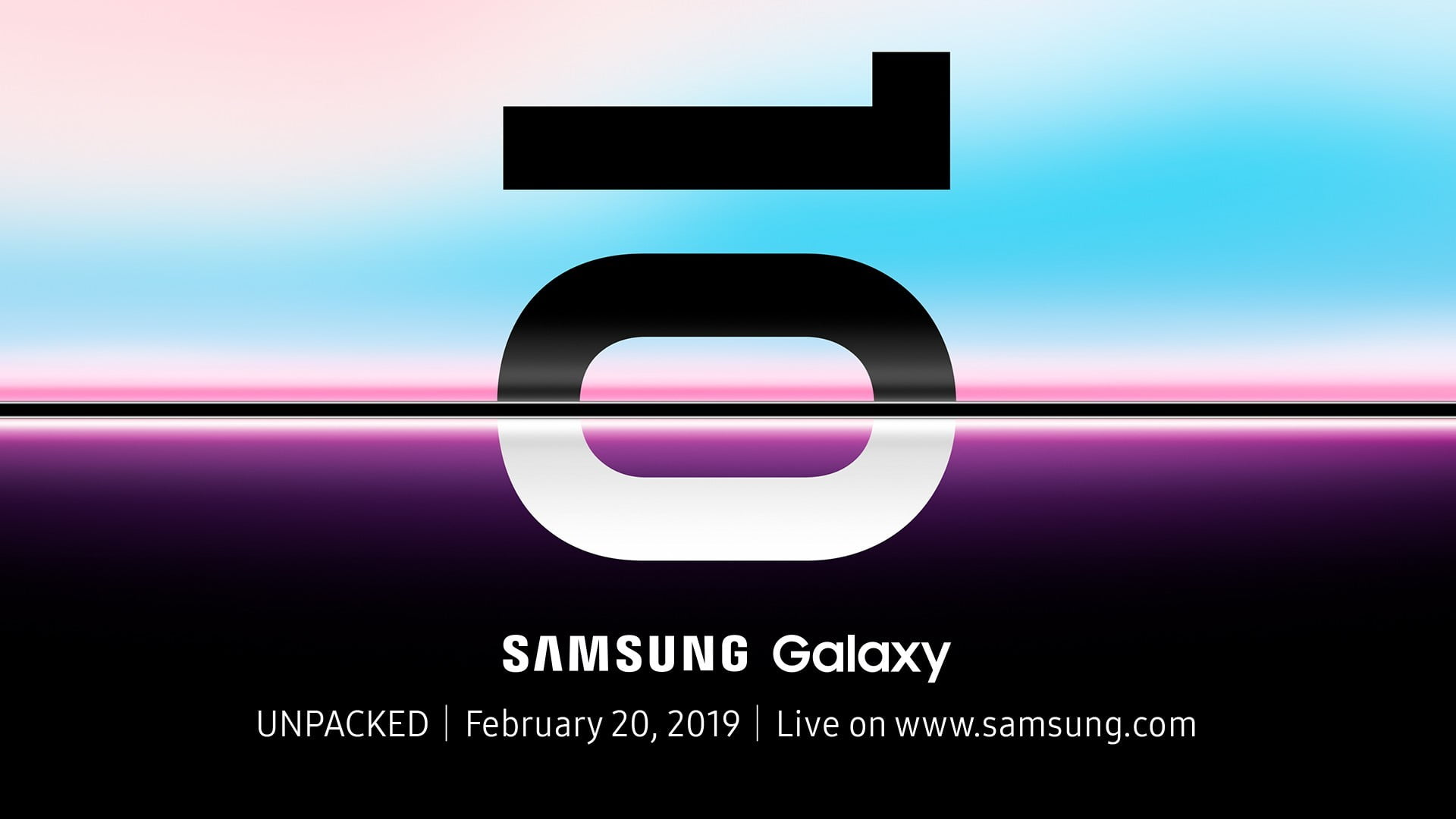 Galaxy S10 invitation