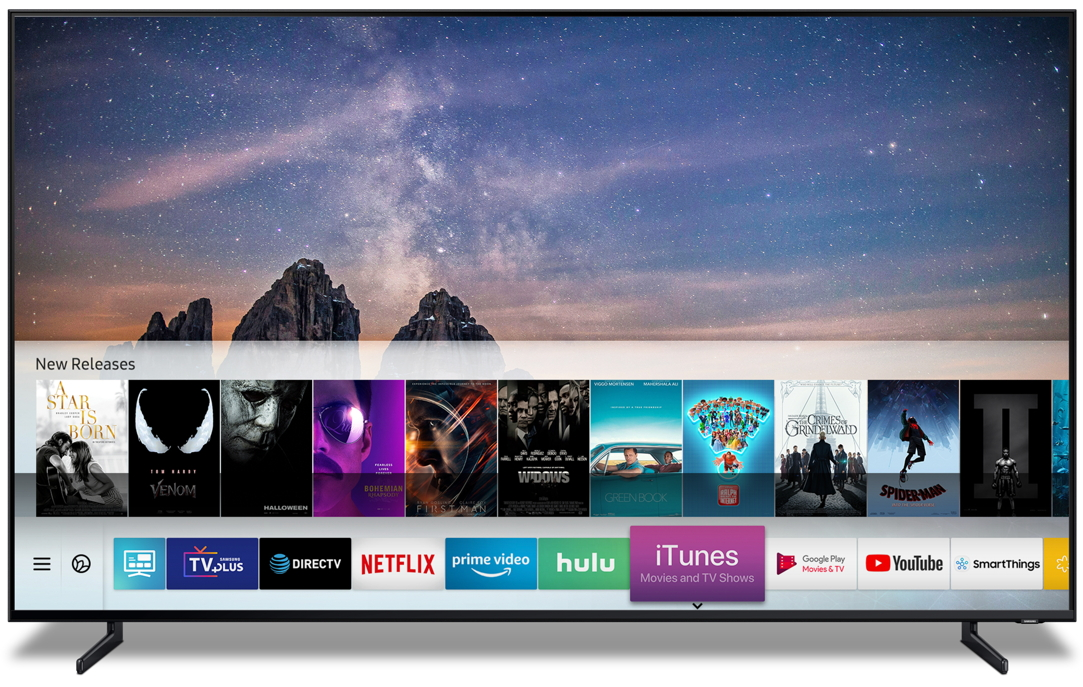 iTunes TV Samsung