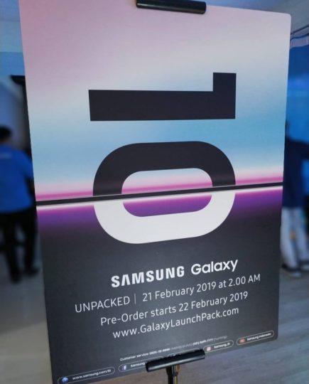 Affiche Galaxy S10
