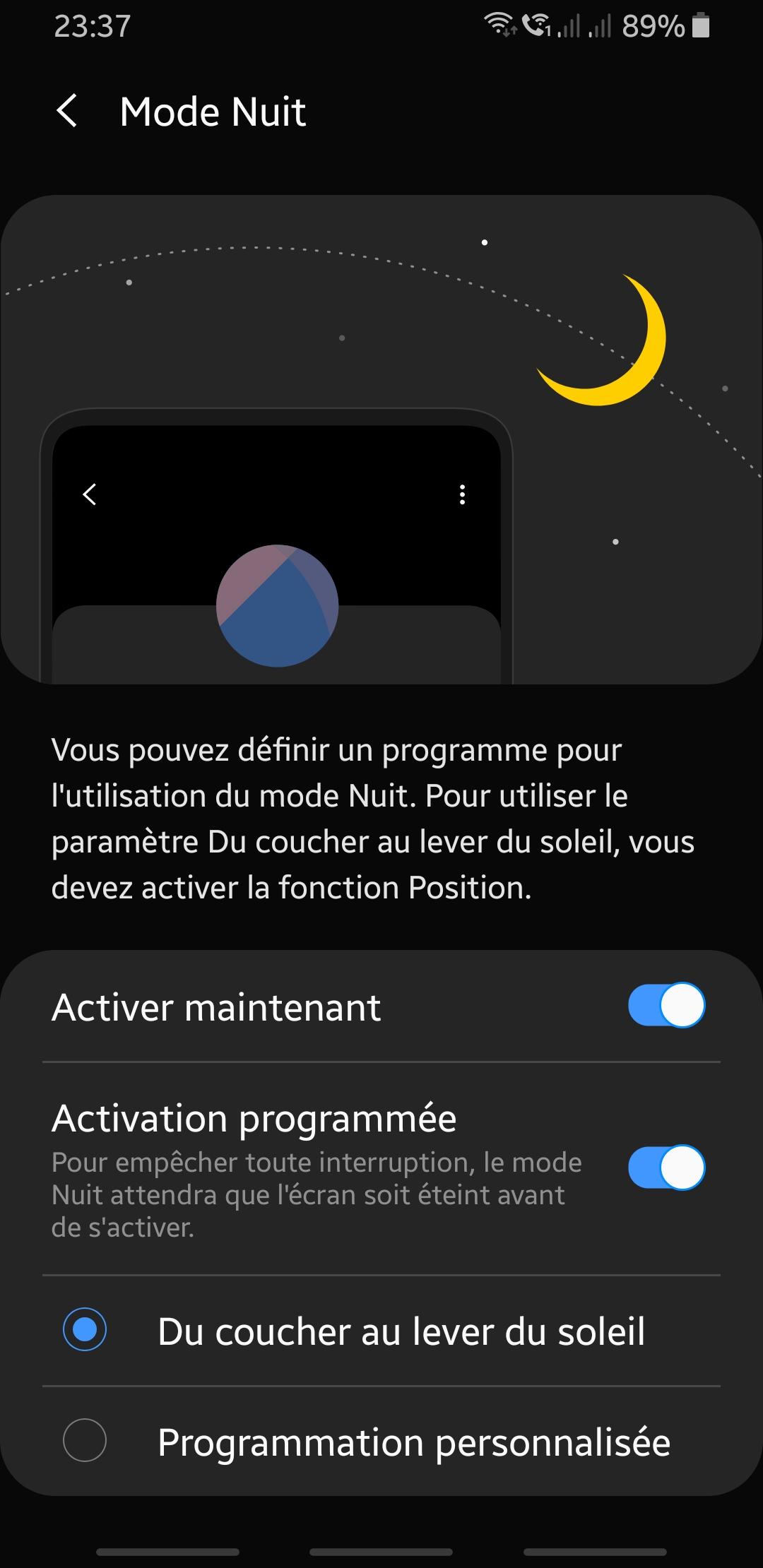 mise à jour S9