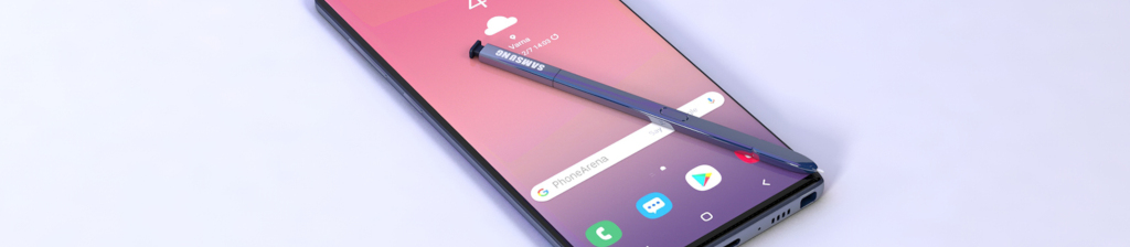 Galaxy Note 10 render