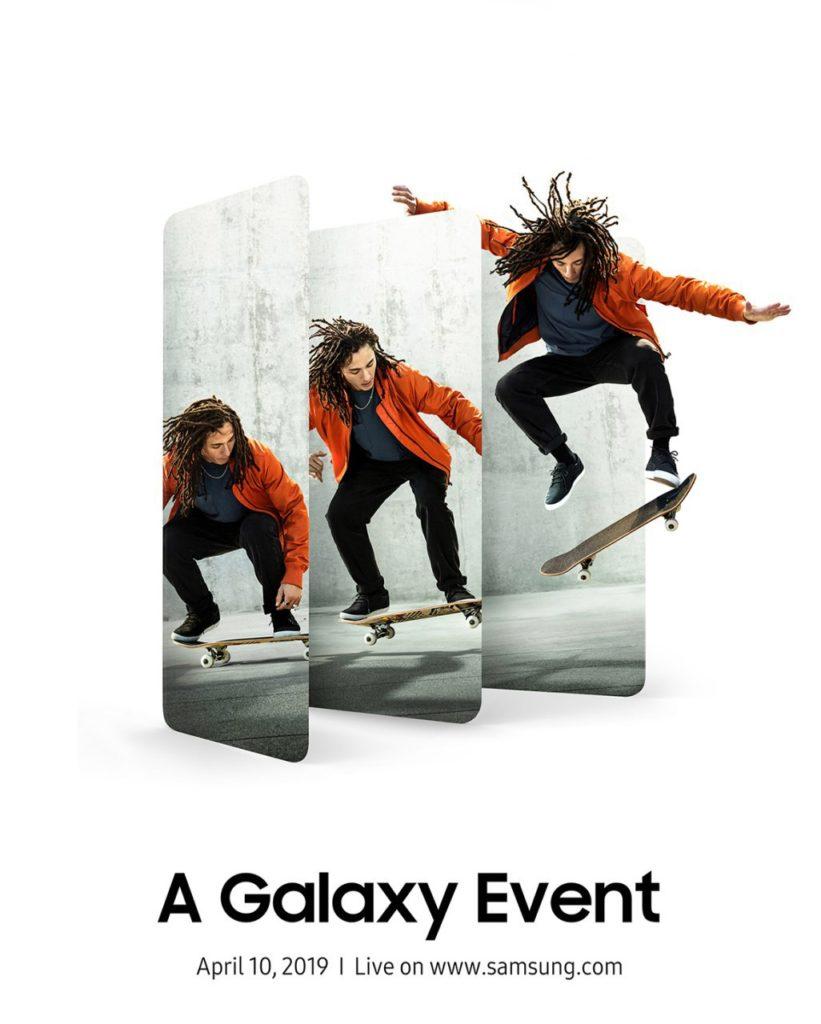 Galaxy A (2019) event