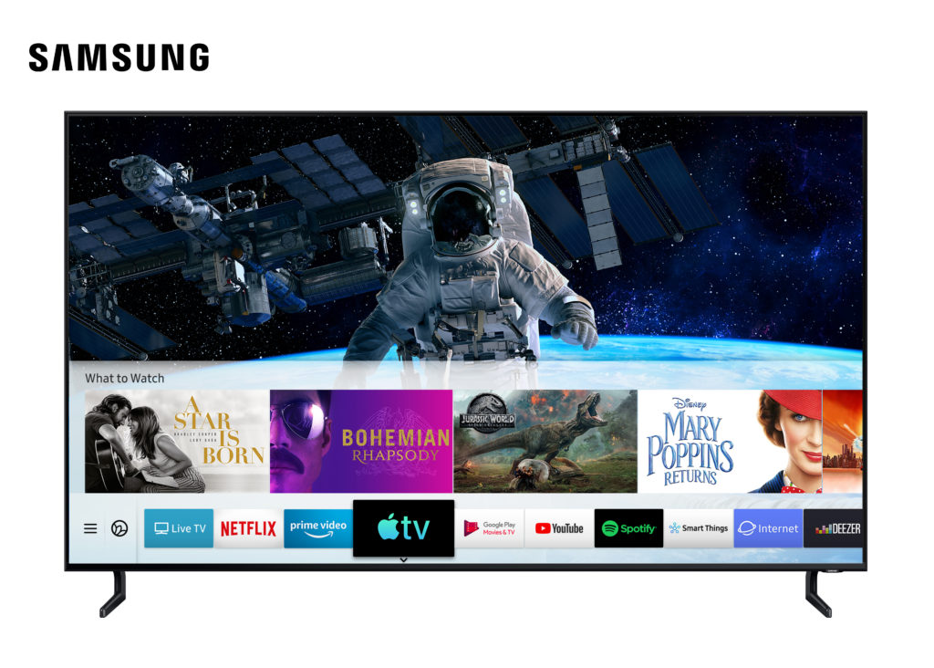 Apple TV sur Samsung Smart TV