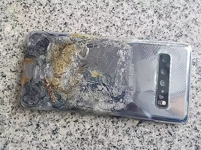 Galaxy S10 5G incident