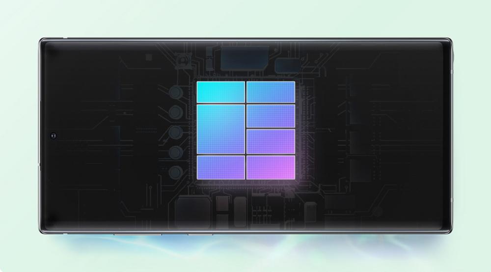 Puissance des Galaxy Note 10
