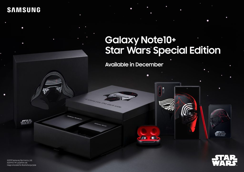 Galaxy Note 10+ édition Star Wars
