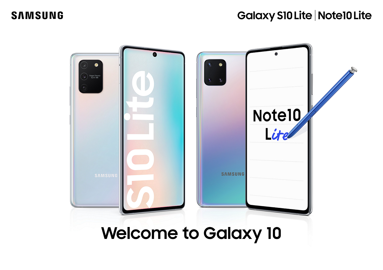 Galaxy Note 10 Lite & Galaxy S10 Lite