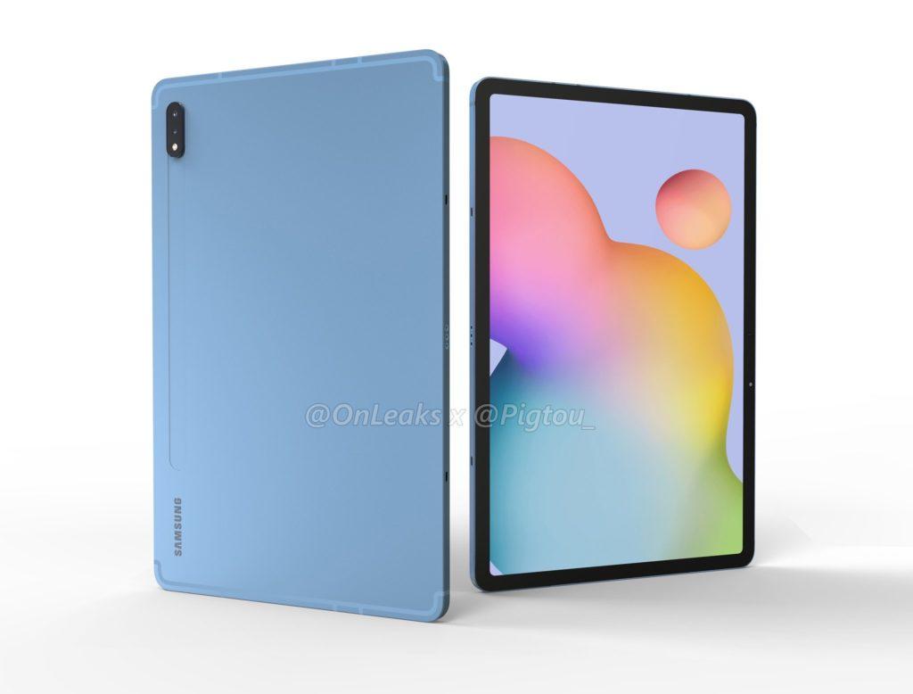 Galaxy Tab S7 Rendu