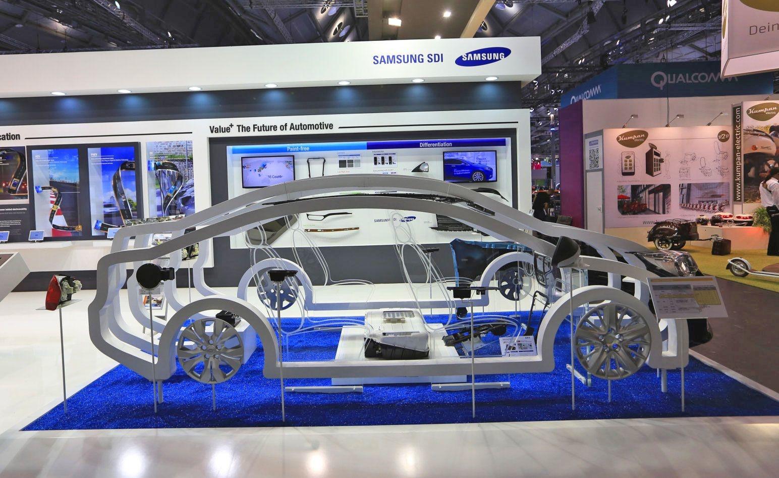 Samsung a développé une batterie pour voitures électriques