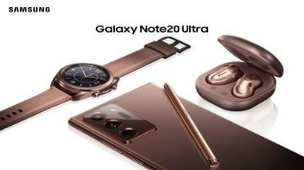 Note 20, Watch 2, Buds Live flou