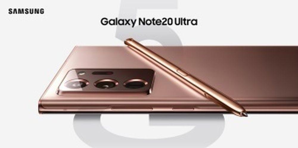 Galaxy Note 20 press flou