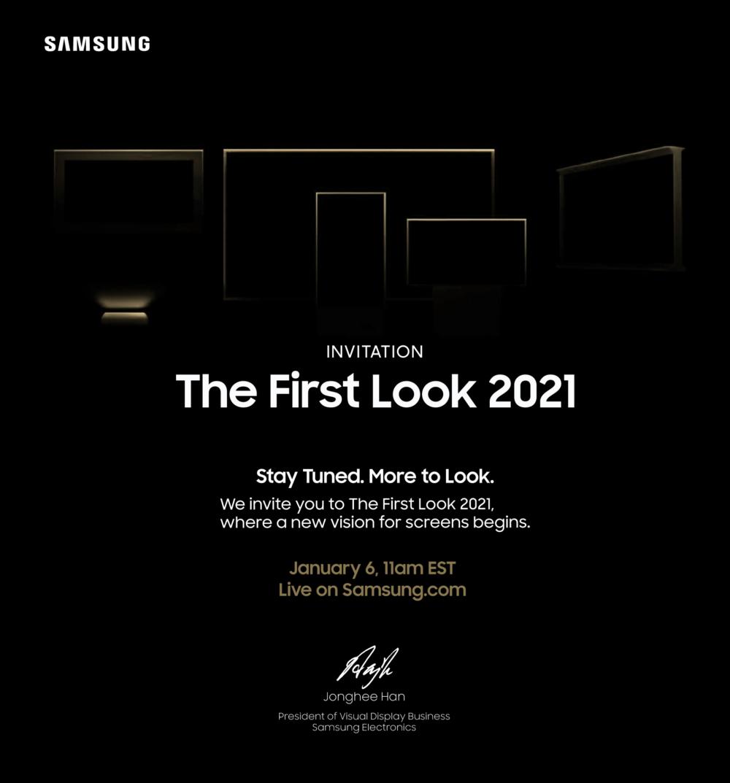 Event Samsung TV 2021